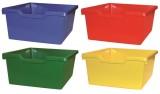 kombinace barev Prosím specifikujte svůj požadavek na kombinaci jednotlivých barvy v poznámce objednávky. - Skříňka s červenými dvířky a 8 plastovými zásuvkami