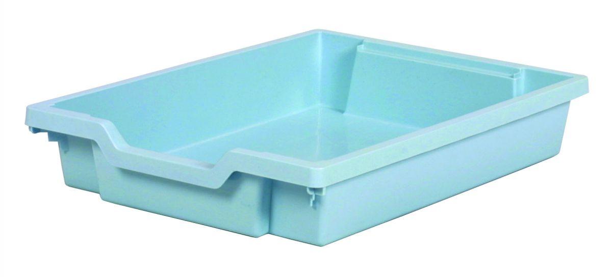 Plastová zásuvka SINGLE - pastelově modrá Gratnells