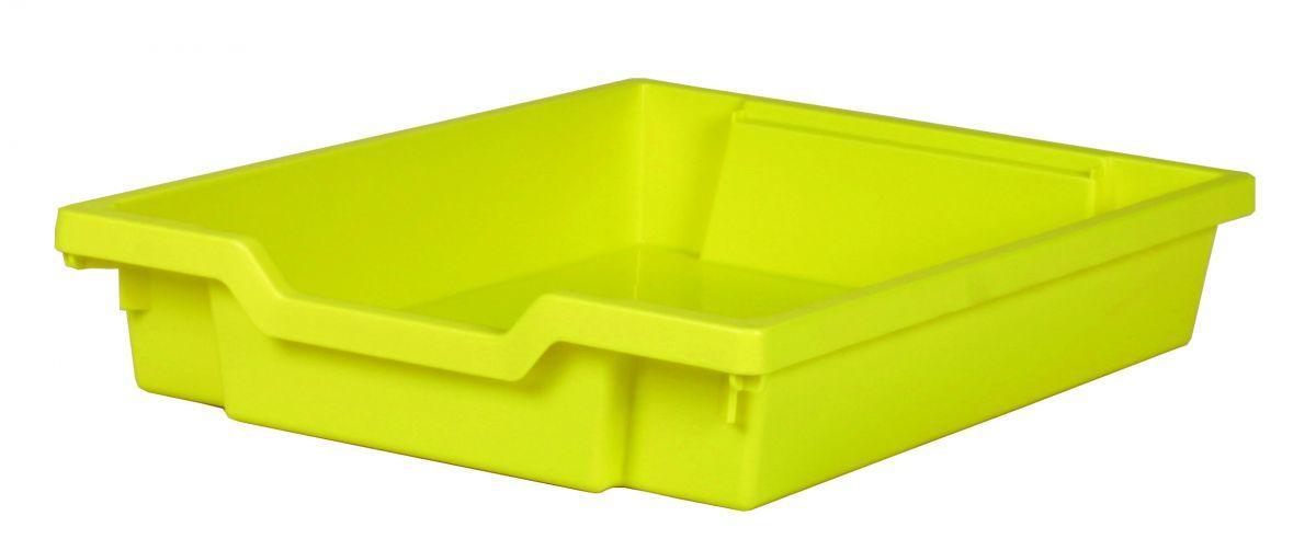Plastová zásuvka SINGLE - žlutá Gratnells