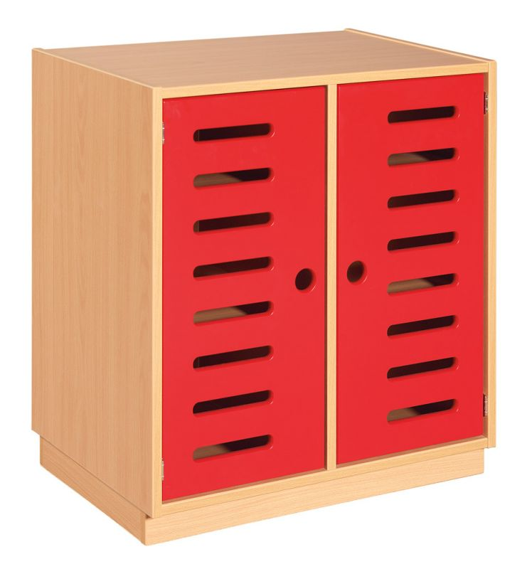 Skříňka s dveřmi a 2 policemi