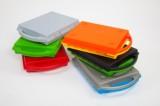 SmartCase® - uzavíratelná plastová zásuvka, červené dno i víko