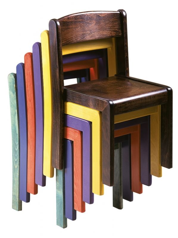 Stohovatelná židle TIM - celomořená