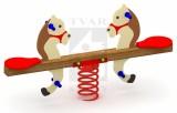 Pružinová dvojhoupačka Koník