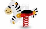 Pružinová houpačka Zebra