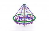 Kolotoč stromeček s ocelovou konstrukcí a lany