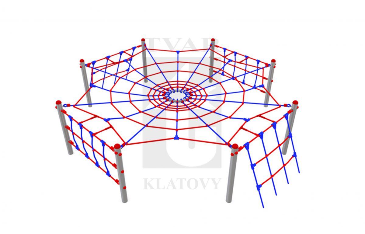 ARAK 1 - Lanová prolézačka pavučina