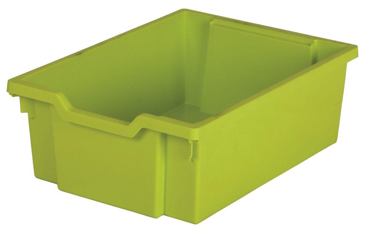 Plastová zásuvka N2 DOUBLE - limetková Gratnells