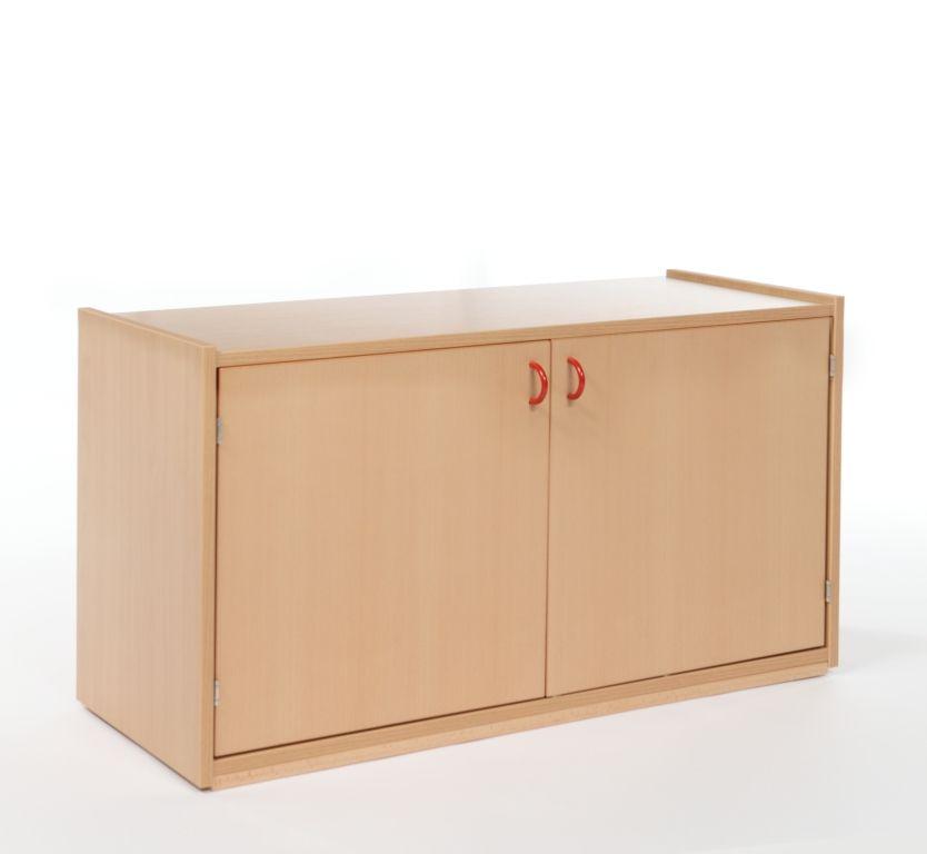 Nástavbová skříňka dvoudveřová s 1 policí / hloubka 60 cm