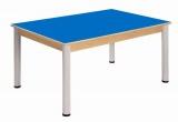 Stůl 120 x 80 cm / výškově stavitelné nohy 58 - 76 cm