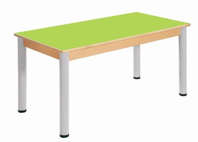 Stůl 120 x 60 cm / výškově stavitelné nohy 36 - 52 cm