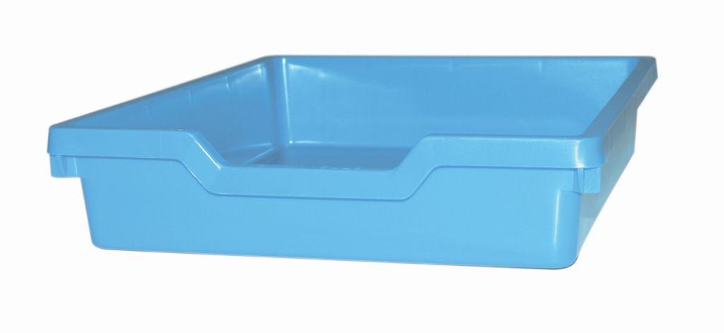 Plastová zásuvka N1 SINGLE - pastelově modrá Gratnells