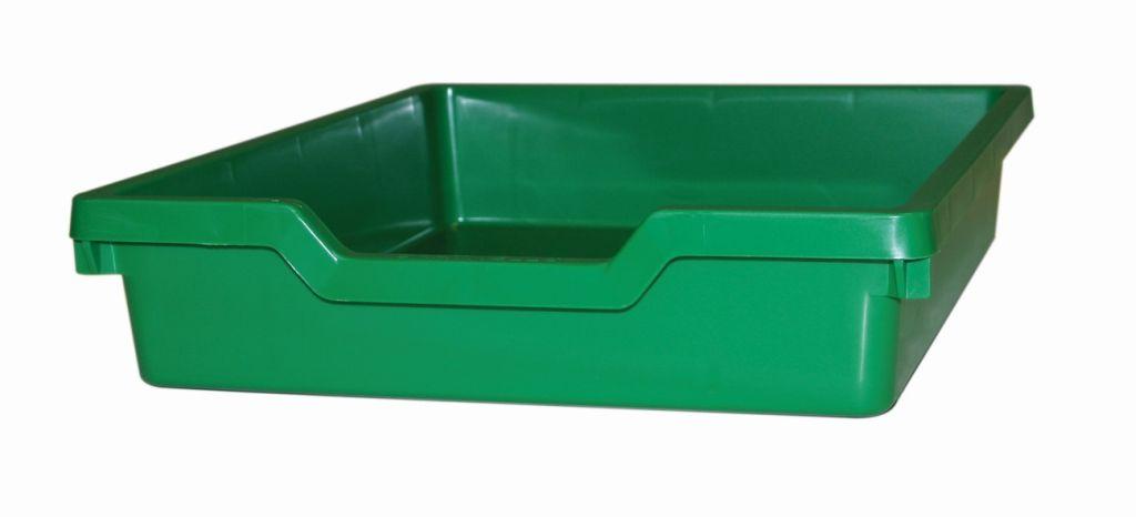 Plastová zásuvka N1 SINGLE - zelená Gratnells