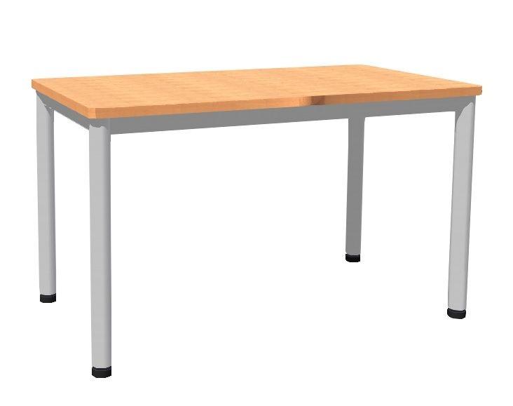 Stůl 120 x 80 cm / kovová podnož, umakart