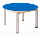 Stůl kruh průměr 100 cm / výška 52 - 70 cm