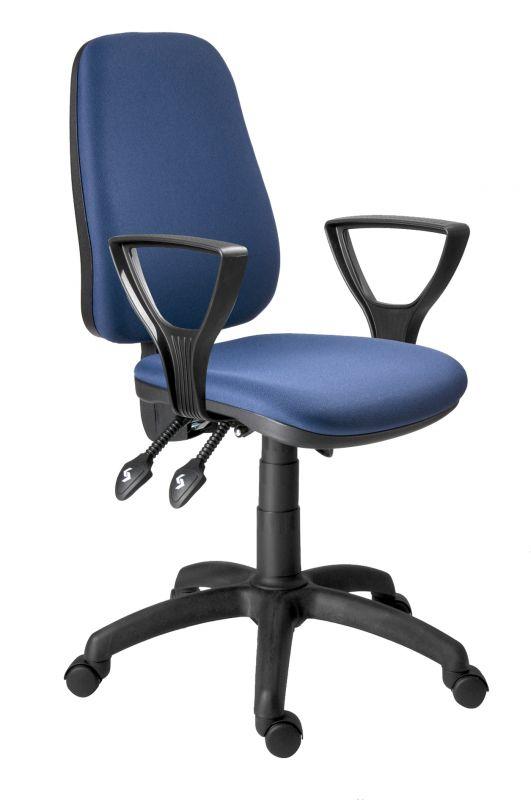 Židle kancelářská (bez područek) -