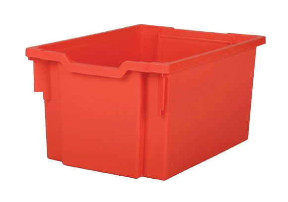 Plastová zásuvka EXTRA DEEP - červená Gratnells