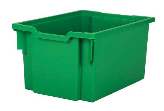 Plastová zásuvka EXTRA DEEP - zelená Gratnells