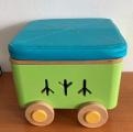Úložný box na kolečkách Boxie - výška 25 cm