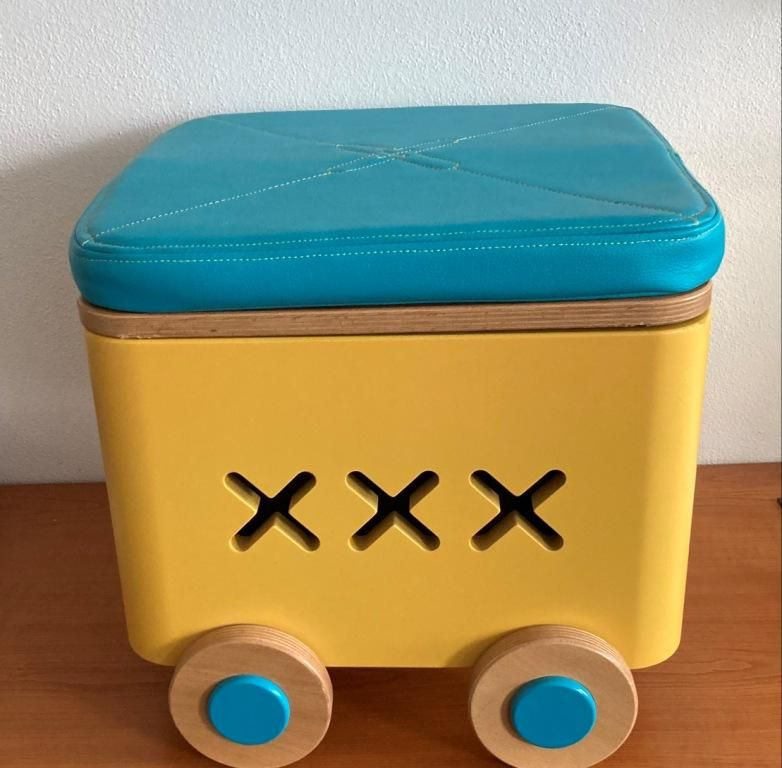 Úložný box na kolečkách Boxie - výška 30 cm TVAR v.d. Klatovy