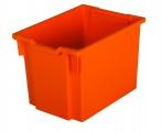 Plastová zásuvka F3 JUMBO - oranžová