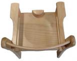 Židle s područkou a abdukčním klínem TIM II - přírodní