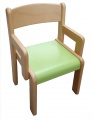 Židle VIGO s područkou - barevný umakartový sedák